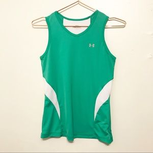 Under Armour green tank top size small